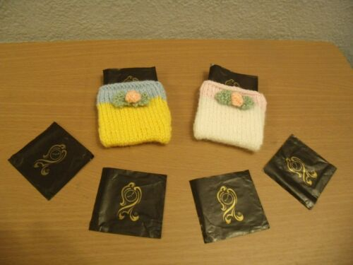 KNITTING PATTERN Easter After Eight Mints chocolate covers