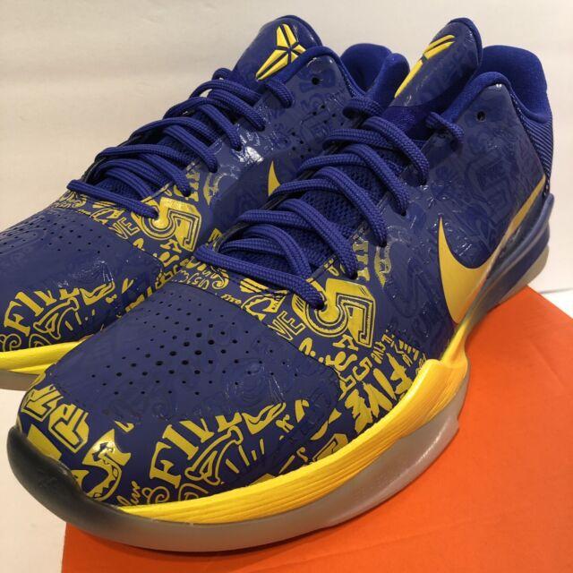 wholesale dealer 30bcc 53f1f Nike Zoom Kobe V 5 Rings 12 US NBA Champs DS MVP Bryant Protro