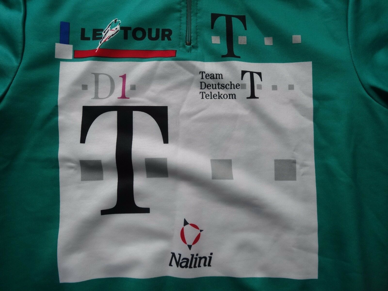 Vintage Nalini Team Deutsche Telekom Le Tour D1 jersey retro' size L