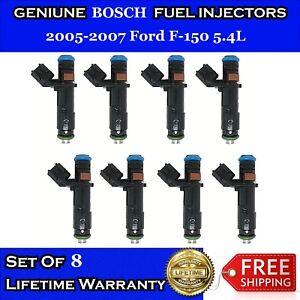 Ford E150 Econoline 4.6//5.4L OEM Bosch 2Gen Upgrade 8x Fuel Injectors 4Hole 24Lb