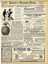 W.Vetters Dresden Mammuth Erdbeerpflanzen A.Burghardt Deidesheim Champagner 1883