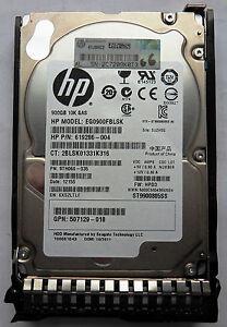 HP 652589-B21 653971-001 900GB 6G SAS 10K 2.5 SC Enterprise HDD New Retail