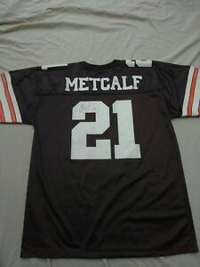 f8b5f1117 Image is loading Eric-Metcalf-Browns-Jersey-Signed