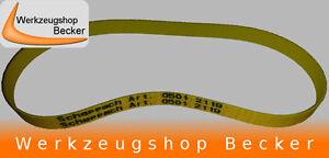 BANDTILEFlachriemen für Scheppach Rollsieb rs 400 und 350 (Ersatzteil Nr. 05012119)