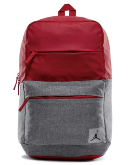 e985d348b73f Nike Air Jordan Jumpman Pivot Laptop Backpack Red Gray 9b0013-r78 ...