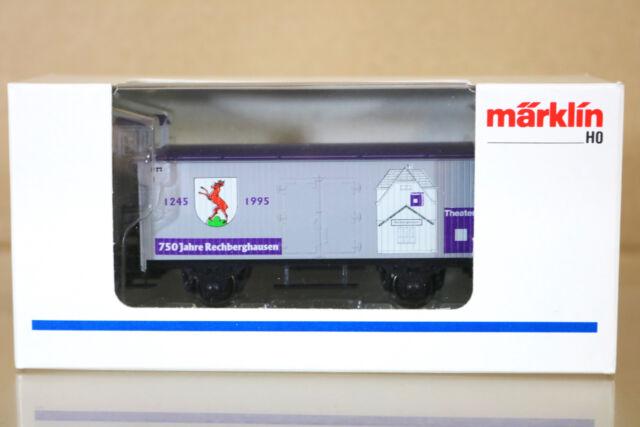 MARKLIN MäRKLIN G0010 SONDERMODELLE THEATRE im BAHNHOF 750 JAHRE RECBERGHAUSEN