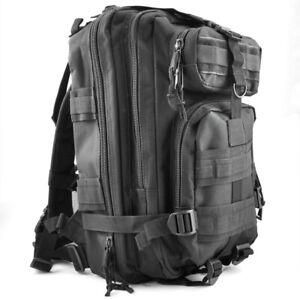 30L-tattico-Zaini-all-039-aperto-Militare-Campeggio-Escursioni-borsa-Nero-U9G1