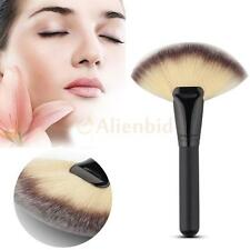New Cosmetic Makeup Face Powder Blusher Contour Fan Shaped Brush Foundation Tool