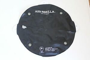 Air-Brella 1980s Collapsible Light Reflector/Flash Diffuser, Folds Flat