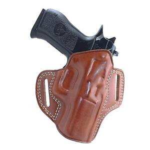 Premium Leather Owb Pancake Holster Open Top Fits Jericho 941 Baby Eagle 1073 Ebay