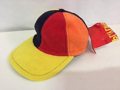 Contemplativo Cappello Pile Bambino Playlife Pd-402 Multicolor Vintage Cappellino Hat P.ar