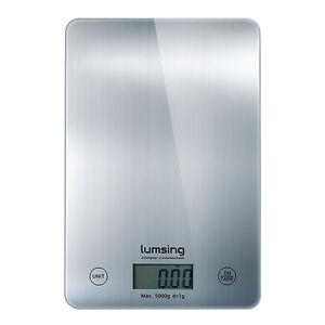 11lb x 0.05oz LCD Digital Kitchen Scale Balance 5Kg x 1g meat Food Diet postal