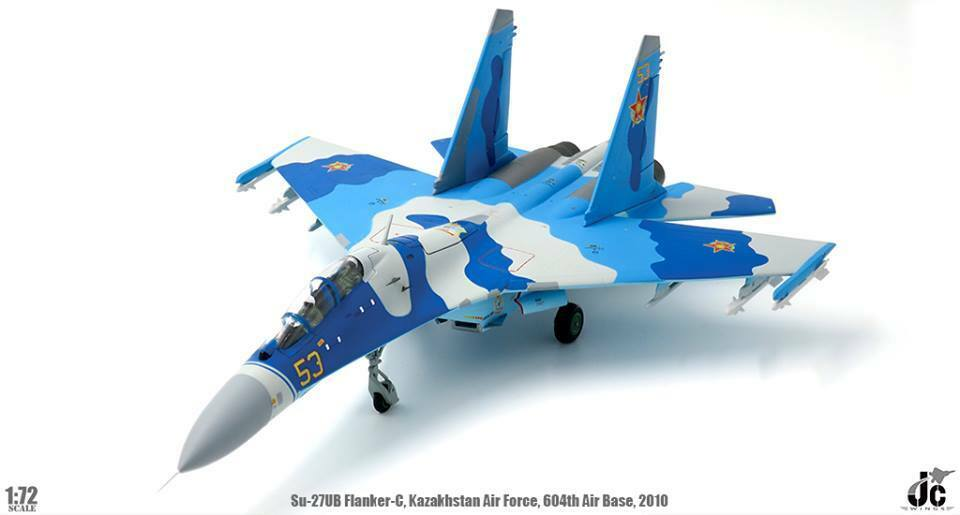 JC vinges JCW -72 -SU27 -004,Sukhoi Su27U Flanker -C Kazakstan Air Force 604th Air B