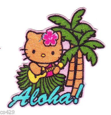 "2/"" Hello kitty arizona state of usa fabric applique iron on character"