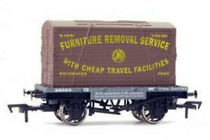 Dapol-4F-037-003-OO-Gauge-GWR-Conflat-Wagon-amp-Container