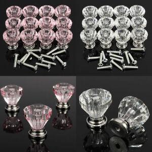 12pcs-Diamond-Crystal-Glass-Door-Knobs-Cupboard-Drawer-Cabinet-Kitchen-Handles