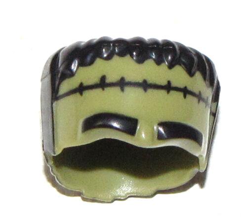 LEGO NEW OLIVE GREEN MINIFIGURE FRANKENSTEIN THICK HEAD HALLOWEEN