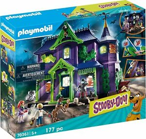 NEW-Playmobil-Scooby-Doo-Mystery-Mansion-Playset-Toy-Kids-Cartoon-TV-Figure-90s