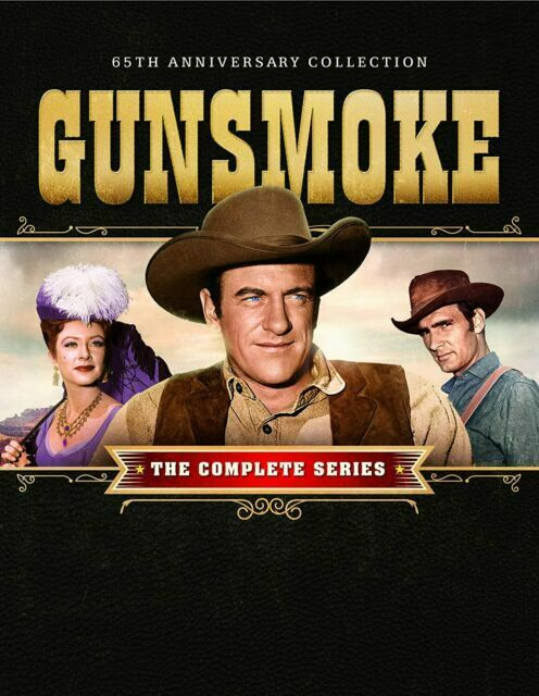 Gunsmoke Complete Series 65th Anniversary Collection DVD Box Set Free shipping