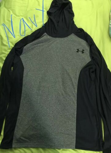 Under Armour Men/'s Thread Borne Hoodie XLarge Navy//Grey **NEW WITH TAGS**