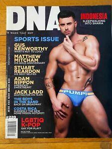 DNA Magazine #220 Matthew Mitcham / Stas Vokman / Boys in the Band / Gay Int