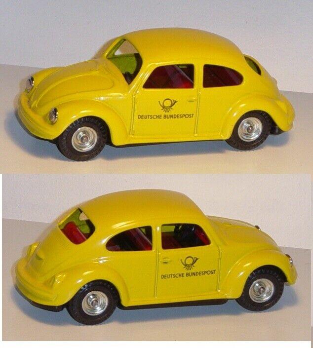 Kellermann 425 VW Käfer, yellow, DEUTSCHE BUNDESPOST, BUNDESPOST, BUNDESPOST, mit Friktion, 1 43 dbc580