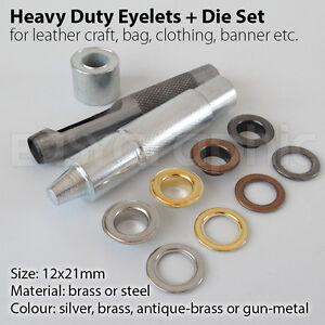 how to use heavy duty eyelet pliers