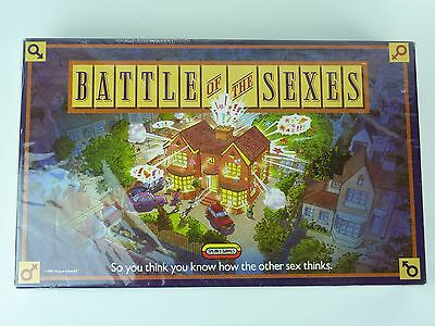 Battle Of The Sexes Board Game. Spears. Checked Complete. Very Good Condition
