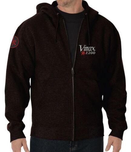 Tribute  Yamaha V Max 1200 Embroidered  hoodie fleece polo shirt gift