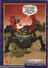Pubblicità Advertising MATTEL 1988 MASTERS I Dominatori dell'Universo Monstroid