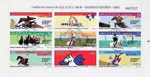 ESPANA-HB-MATAS-2002-CABALLOS-JEREZ-MAT-1-DIA-BARCELONA