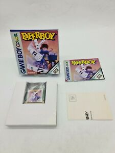 NEUF RARE PAPERBOY NINTENDO Gameboy Game boy COLOR Boxed boite OVP DMG-AYPP-EUR