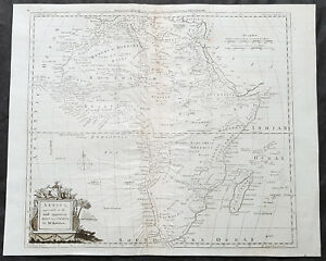 1782-Thomas-Kitchin-Large-Original-Antique-Map-of-Africa