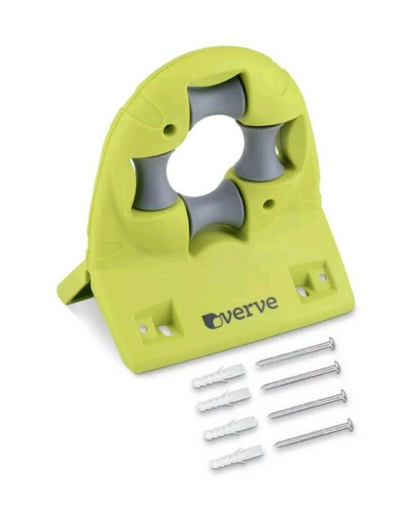 Verve Wall Mountable Water Hose Guide Holder Case Fixings NEW Fast Delivery