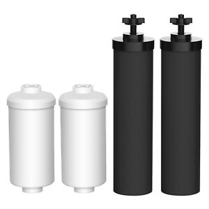 AQUACREST Filters Replacements For Black Berkey BB9-2 & Fluoride Filters PF-2