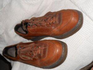 para zapatos Sz con cuero hombres de Mephisto Oxfords 5 11 marrón cordones H5q6wHd