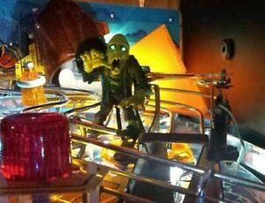 MONSTER BASH Pinball Green Eyed Monster Creep Mod