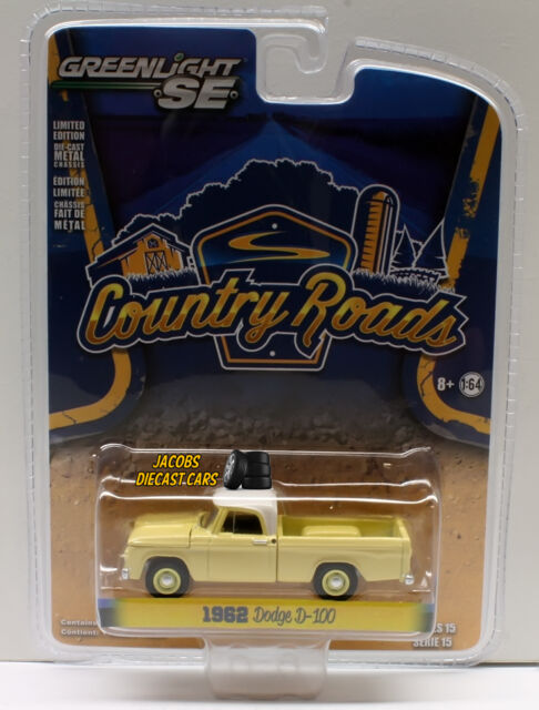 1:64 Greenlight Country Roads Series 15 - 1962 Dodge D-100