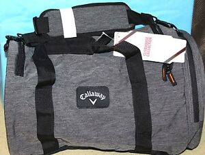 d8dacc626f Image is loading CALLAWAY-GOLF-CLUBHOUSE-SMALL-DUFFLE-CHARCOAL-LUGGAGE