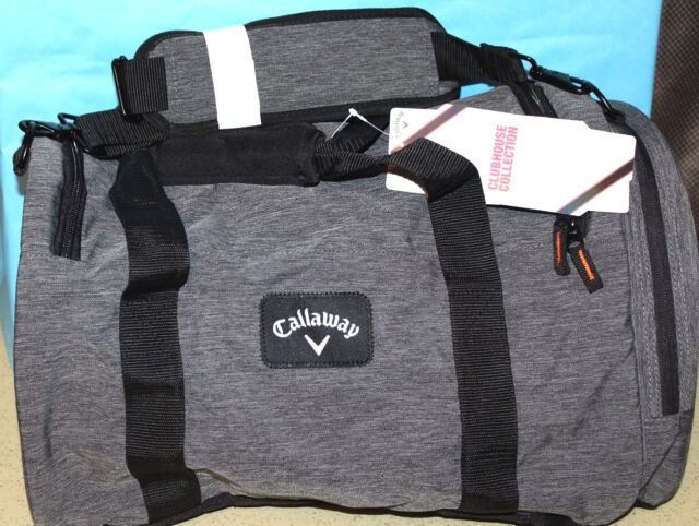 Callaway Clubhouse Small Duffle Bag 10x19x10 for sale online  472504a633957