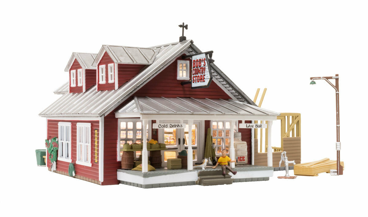 Woodland Scenics BR5031, HO Scale, Built Built Built & Ready Country Store Expansion f930f4