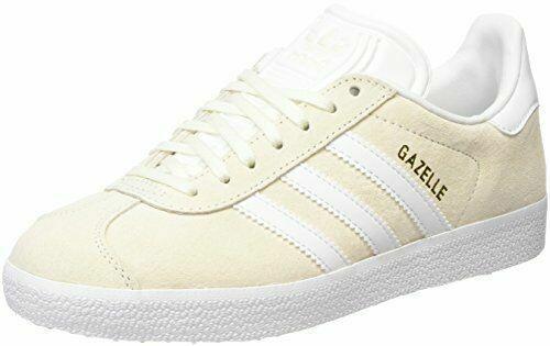Size 7.5 - adidas Gazelle White Gold - BB5475 for sale online | eBay