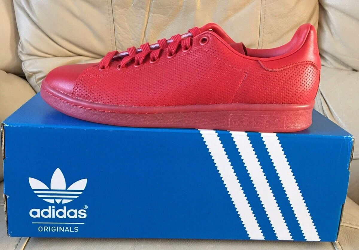 ADIDAS STAN ADICOLOR SMITH ADICOLOR STAN Hombre TRAINERS Talla U.K.7. 24b6b2