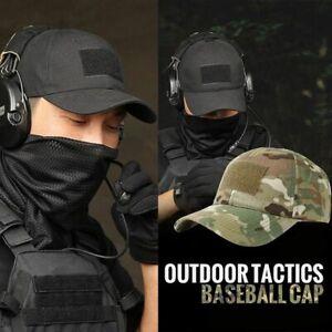 Mens-Gorras-Baseball-Cap-Cotton-Bone-Hat-Trucker-Tactical-Camouflage-Snapback
