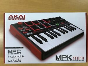 Details about Akai Professional MPK Mini MKII 25-Key Ultra-Portable USB  MIDI Drum Pad Keyboard