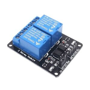 2PCS 5 V deux 2 Channel Relay Module with optocouple Pour PIC AVR DSP ARM Arduino