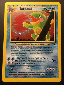 Carte Pokemon TARPAUD 8/75 Holo Néo Discovery Wizard Française Proche NEUF - France - État : Occasion: Objet ayant été utilisé. Consulter la description du vendeur pour avoir plus de détails sur les éventuelles imperfections. ... - France