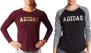 46a54cfe18ee Image is loading Adidas-Women-Sweats-Hoodies-Speedx-Long-Sleeve-Graphic-