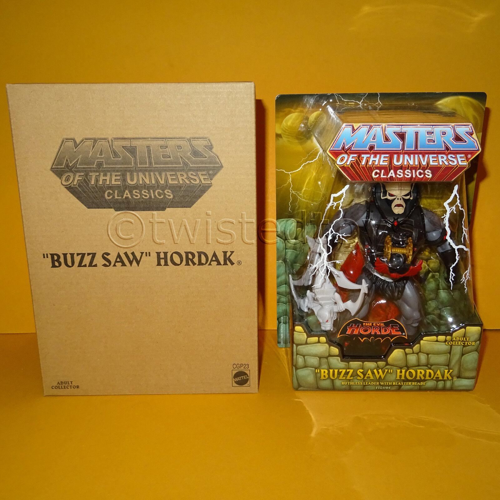 2015 MATTEL MOTU HE-MAN MASTERS OF THE UNIVERSE CLASSICS  BUZZ SAW  HORDAK MOC