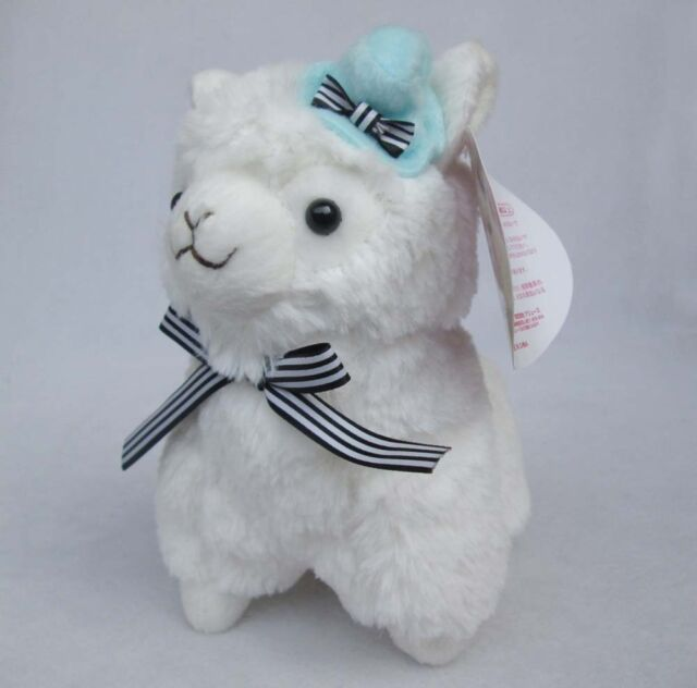 NEW Japan Amuse Arpakasso Alpacasso white Alpaca Plush Doll Toy